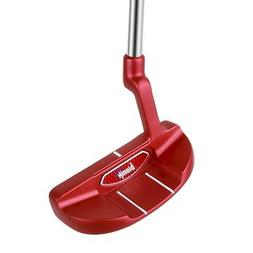 Bionik 105 Red Golf Putter-320 Right Hand/RH-Karma Black Sta