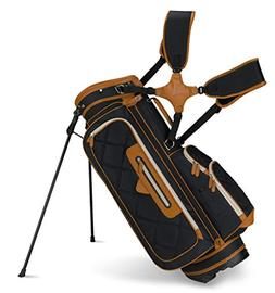 Callaway 2015 Up Town Golf Stand Bag, Black/Brown