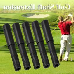 5Pcs Golf Club Graphite Shaft Extensions Rods-Extend Irons P