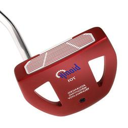 Bionik 701 Red Mallet Golf Putter-Lady/Ladies/Women-RH-Karma