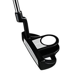 PowerBilt Boy's Ages 9-12 Golf Putter, Right Hand, Silver