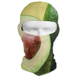 Balaclava Beautiful Avocado Full Face Masks Ski Mask Motorcy