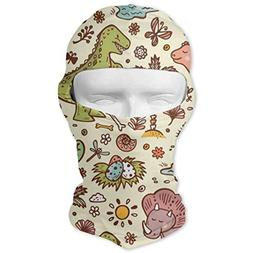 Balaclava Dinosaurs Flowers Plants Cactus Full Face Masks UV