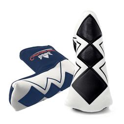Black/Bule Putter Cover Magnetic Headcover For Bettinardi Ti