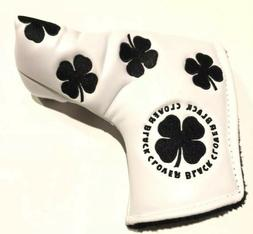 Live Lucky Black Clover blade putter cover, 9.9/10 condition
