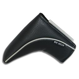 Black Magnetic Golf Putter Headcover Cover for Ping Scotty C