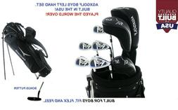 AGXGOLF BOYS LEFT HAND TEEN XL-T COMPLETE GOLF CLUB SET wDRI