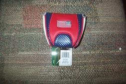 BRAND NEW USA Flag  mallet  2 ball  Putter Cover  fits odyss