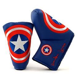 Lion Custom Shop Captain America Golf Headcover for Midsize