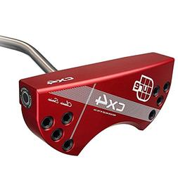 Cure Putters Classic Series Red Putter RH CX4 Heel Shaft 34