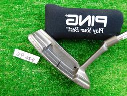 """Ping Classic Stainless Anser 2 35"""" Putter With Headcover Bla"""