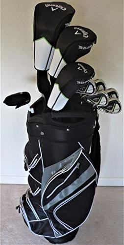 Mens Callaway Complete Golf Set - Driver, 3 Wood, Hybrid, Ir
