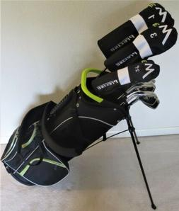 Pro Tour Equipment Mens Complete M3 Golf Set RH Clubs Driver
