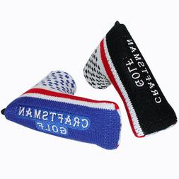 Craftsman Knitted Blade Putter Cover Magnetic for Scotty Cam