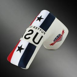 Craftsman USA US Flag Blade Putter cover Headcover For Scott