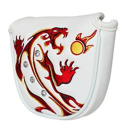 Craftsman Golf White Synthetic Leather Tiger Magnetic Golf M