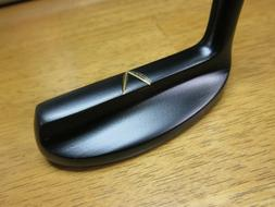 CUSTOM Wilson JULIUS BOROS Brass Putter FLAT Black Finish +