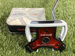 """Taylormade Daddy Long Legs Putter White 33"""" Putter Mens LH L"""