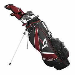 Wilson Deep Red Tour Mens Right Hand Complete Golf Club Set