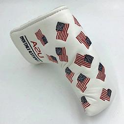DNYAN USA Flag Limited Edition Golf Club Putter Head Covers