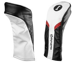 TaylorMade Driver Headcover White/Black/Red PU Leather M1, M
