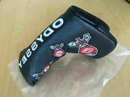 ODYSSEY DROPPING BOMBS PUTTER HEADCOVER - MAGNETIC - for bla