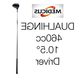 Medicus Dual Hinge 460cc Driver with Free Putter Trainer
