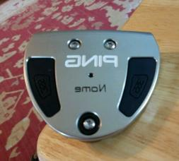Excellent RH PING NOME PUTTER BLACK DOT W/HEAD COVER INCLUDE