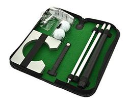 Neon Executive Gift Portable Golf Putter Set Kit with Ball H