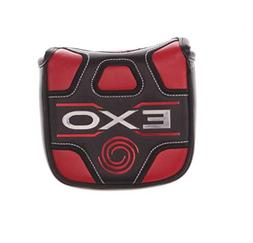 ODYSSEY EXO Mallet Putter Headcover Red