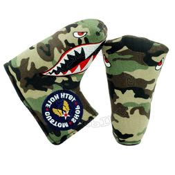 Fighter Plane Head Cover for Callaway Odyssey Blade Midsize
