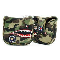 Fighter Plane High-MOI Mallet Putter Head Cover for TaylorMa