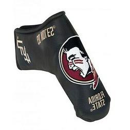 Team Effort Florida State Seminoles Black Blade Putter Cover