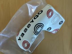 ODYSSEY FUNKY WHITE SWIRL BLADE PUTTER COVER HEADCOVER - MAG