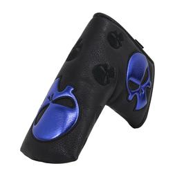 Golf Black Blade Putter Cover Skull Cover For Odyssey Callaw