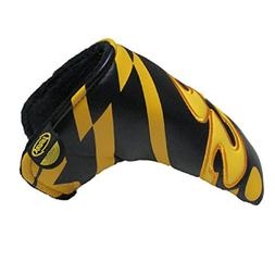 DBYAN Golf Blade Putter Head Cover,Yes Patterned Design Head