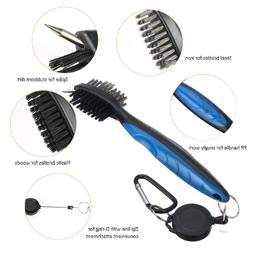 Golf Club Brush Golf Groove Cleaning Brushes <font><b>2</b><
