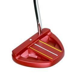"Orlimar Golf F70 Red Mallet Putter 35"" Right Handed - NEW!"
