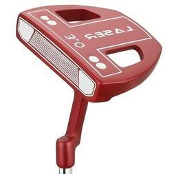 Ram Golf Laser No.3 White Ball Putter - Right Hand - Headcov