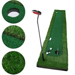 Golf Putting Mat,OUTAD Indoor Golf Training Mat Putting Gree
