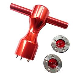 HIFROM 2 x 20g Golf Red Weights +Red Wrench for Scotty Camer