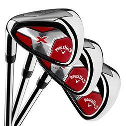 Callaway Golf Men's X Series 2018 Iron Set, 4-PA, Steel, Rig