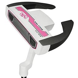 Ray Cook Golf Women's Silver PT 04 Putter Mallet, 33""
