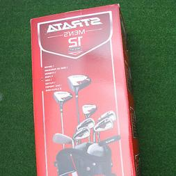 Callaway Golf Strata Mens 12pc Package SET Driver/Fairway/Ir