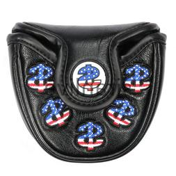 Golf USA America Mallet Putter Cover <font><b>Headcover</b><
