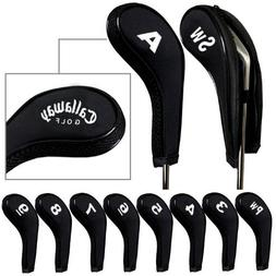 Callaway Golf Zipper Iron Head Covers. Fits All Irons