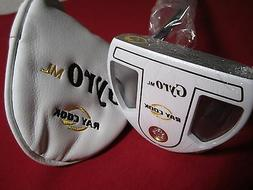 Ray Cook Gyro Mallet Golf Putter - White - Right Handed - 35