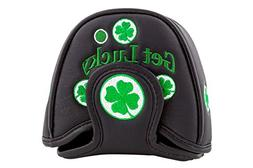 Head Covers Shamrock Lucky Clover Putter Cover By Parsaver M