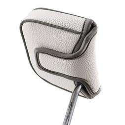 Big Teeth Heel Shaft Golf Square Mallet Putter Cover Headcov