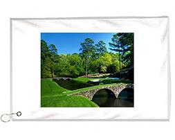 12th Holes Masters Augusta Novelty Golf Towel Golfers Access